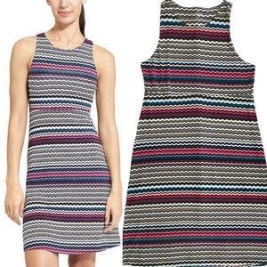 Athleta Santorini Wavy Stripe Sleeveless Dress | M